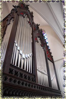L'orgue de Saint Hilaire